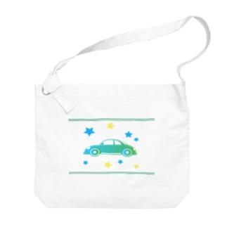 星空ドライブ Big Shoulder Bag