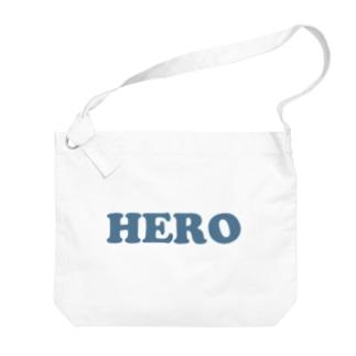 HERO 英雄・ヒーロー Big Shoulder Bag