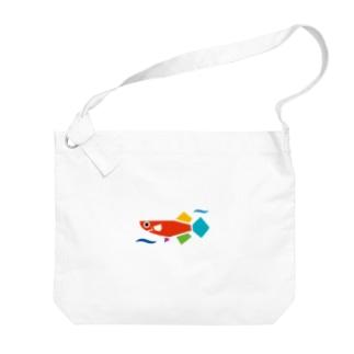 JMAロゴのみ Big Shoulder Bag