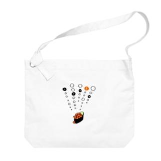 tanka/いくら軍艦 Big shoulder bags