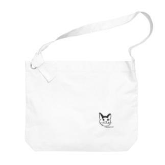 納豆すき? Big shoulder bags