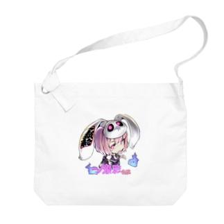 一ノ瀬彩ちびキャラ:LOGO付【ニコイズム様Design】 Big shoulder bags