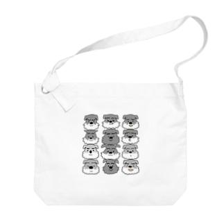 シュナ12 Big shoulder bags