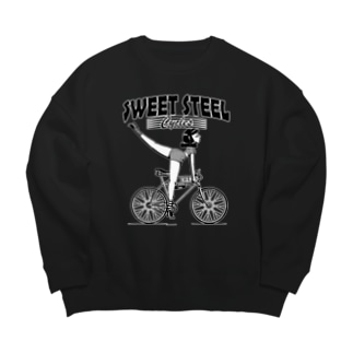 """SWEET STEEL Cycles"" #1 Big Crew Neck Sweatshirt"