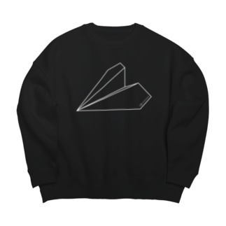紙飛行機 Big silhouette sweats