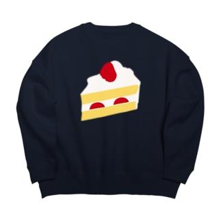 ショートケーキ Big silhouette sweats