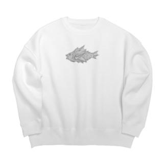 N〇KE  AIR Fish  ニケ エアフィッシュ Big silhouette sweats