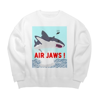 AIR JAWS! ごー!はー!…ん? Big silhouette sweats
