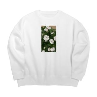 Whiteflower Big silhouette sweats