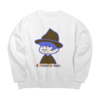 らぶりーでー! Big Crew Neck Sweatshirt