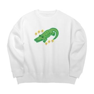 わにくん Big Crew Neck Sweatshirt