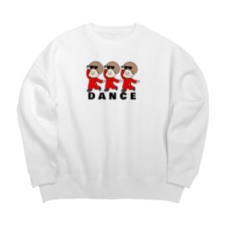 DANCE!DANCE!DANCE! Big Crew Neck Sweatshirt