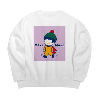 君のヒーロー! Big Crew Neck Sweatshirt