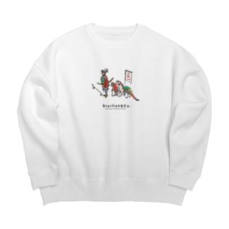 Momotaro Skate Sweat Shirts Big silhouette sweats