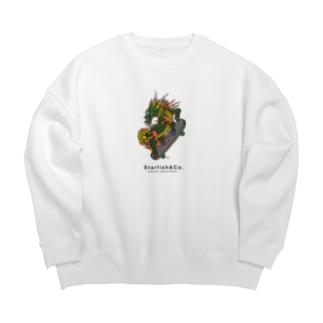 Dragon Skate Sweat Shirts Big silhouette sweats