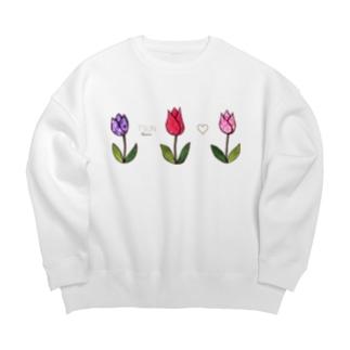Tsun tun tulip Big silhouette sweats