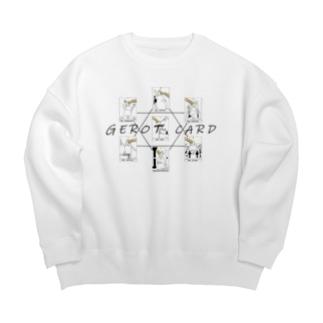 nijicatのGEROT CARD Big Crew Neck Sweatshirt