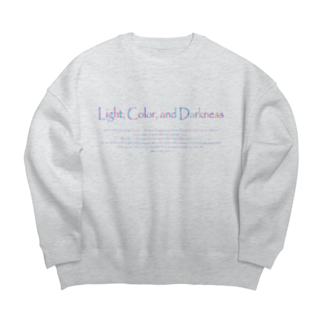 Kazumichi Otsubo's Souvenir departmentのLCD ロゴ&テキスト 06 Big silhouette sweats