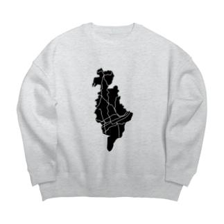 ホケンタイイク246の569(旧街道) Big silhouette sweats