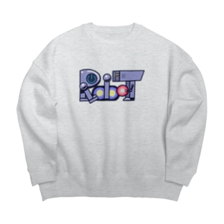 Robot ロボット 068 Big silhouette sweats