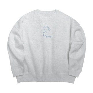 ブラームス Brahms Big silhouette sweats