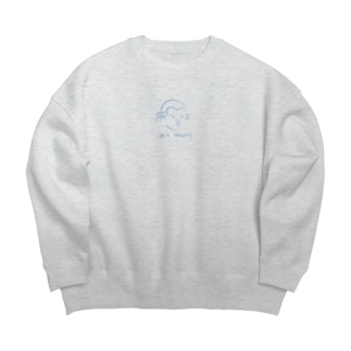 モーツァルト Mozart Big silhouette sweats