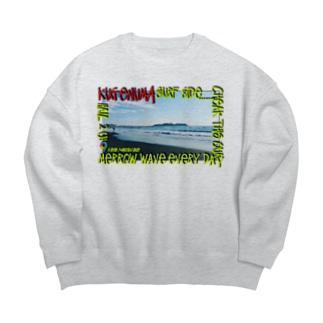 鵠沼海岸 Beahシリーズ Big silhouette sweats
