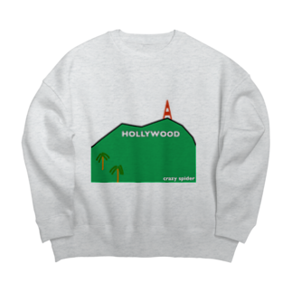 CRAZY SPIDER ROOMのHOLLYWOOD collection Big silhouette sweats