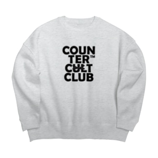 COUNTER CULTCLUB™️のCOUNTER CULTCLUB GRAY Big silhouette sweats