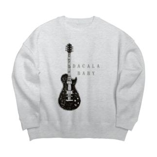 ROCKデザイン Big silhouette sweats