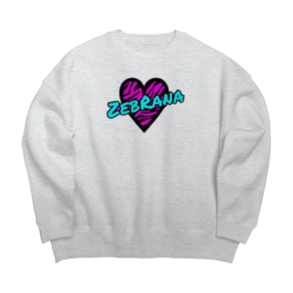 ZebRana 💜🍒のZebRana Big silhouette sweats