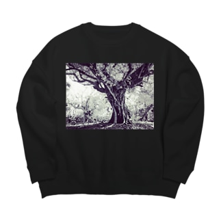 ガジュマルの木 Big silhouette sweats