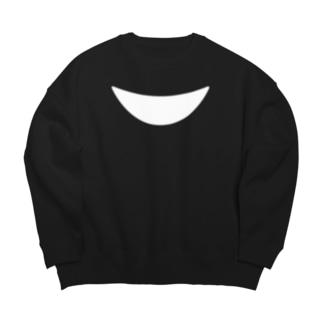 なりきりツキノワグマ(片面) Big silhouette sweats