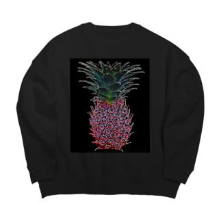 colorful ananas Big silhouette sweats
