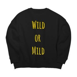 wild or mild Big silhouette sweats