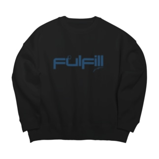 Fulfill blue Big silhouette sweats