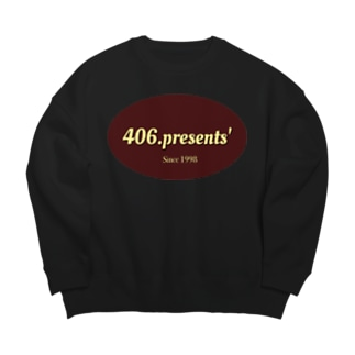 406.presents' Big silhouette sweats