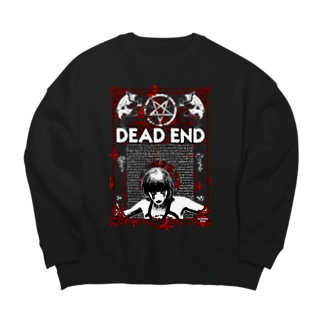 DEAD END Big silhouette sweats