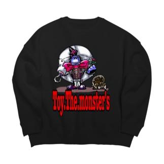 Toy.The.monster's シュタイナー&フラン犬 Big silhouette sweats