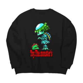 Toy.The.monster's カワタロ&カップ Big silhouette sweats
