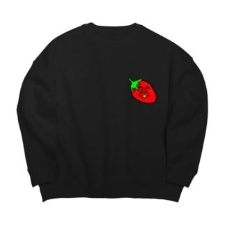 イチゴのかずや Big silhouette sweats