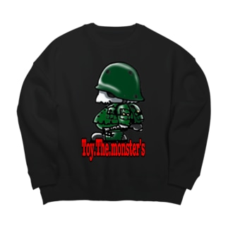 toy.the.monsters!のToy.The.monster's AK side Big silhouette sweats