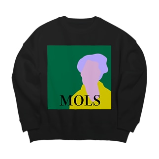 MOLS magazine sweat green Big silhouette sweats