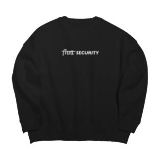 Flatt Security(white) Big silhouette sweats