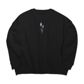 ムスカリ Big silhouette sweats