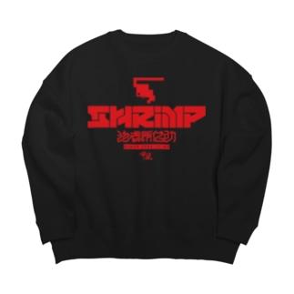 「SHRIMPロゴ」ビッグシルエットスウェット Big silhouette sweats