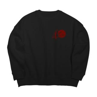 Co.Pandaロゴ Big silhouette sweats