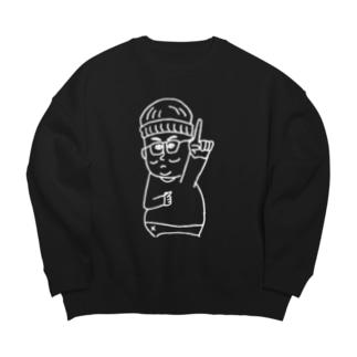ランニングマン Big silhouette sweats