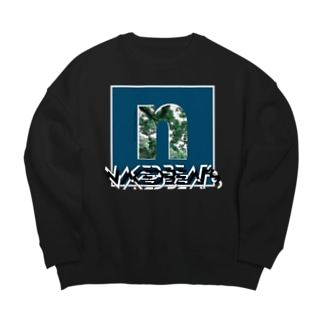 NAKEDBEATS/nature ビッグシルエットスウェット Big silhouette sweats