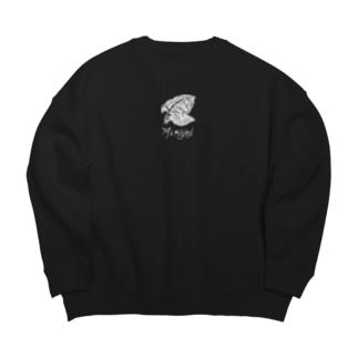 J's Original 白 Big silhouette sweats
